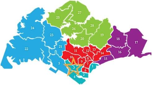 新加坡房产分布D03 margret ville