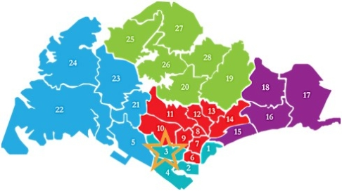 新加坡房产分布D03 stirling residences