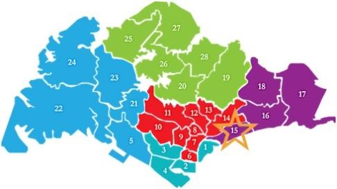 新加坡房产分布D15amber 45