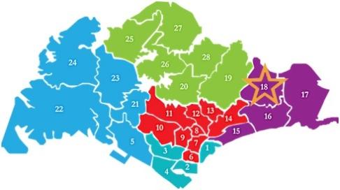 新加坡房产分布D18the taspetry