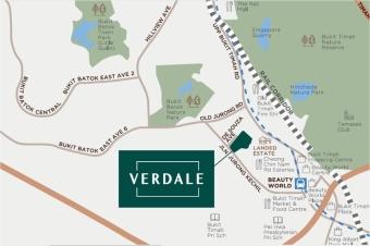 Verdale-Location-Map